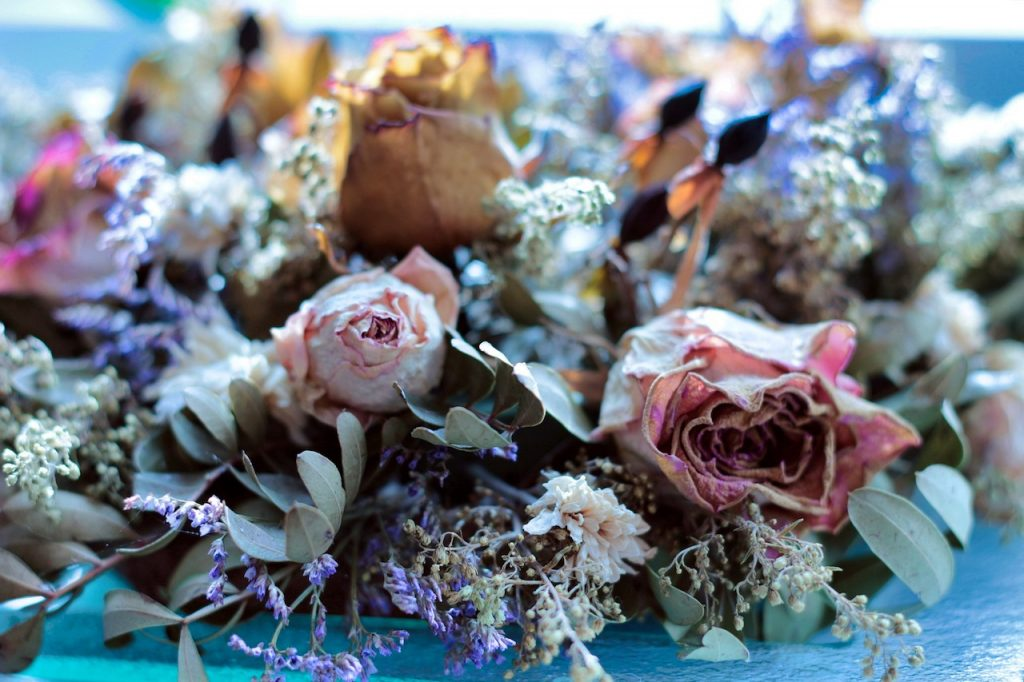 dried flowers bouquet